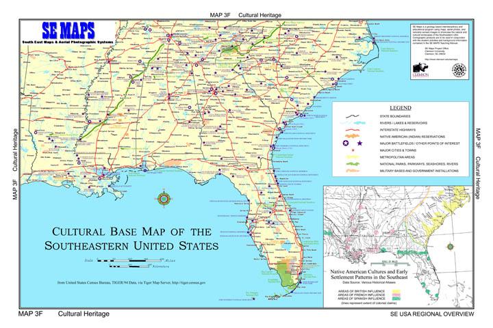 SE MAPS Regional Maps Home