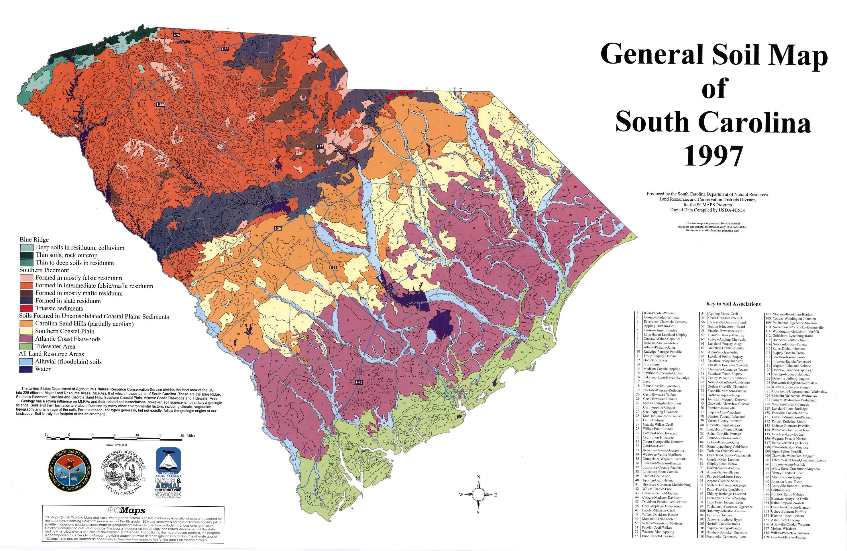 sc maps sites
