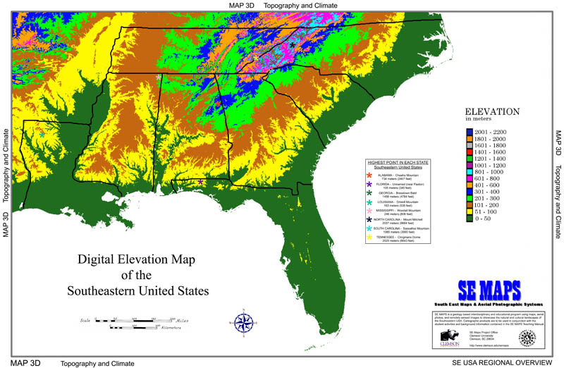 The Science Behind Why People Buy Bread When Snow Is In The Forecast - Se us elevation map