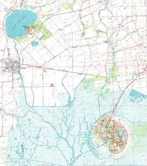 Weeks Island Louisiana Map