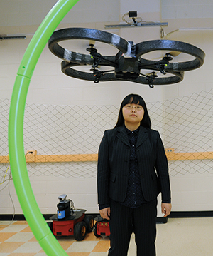 Yue Wang, Assistant professor in Mechanical Engineering.