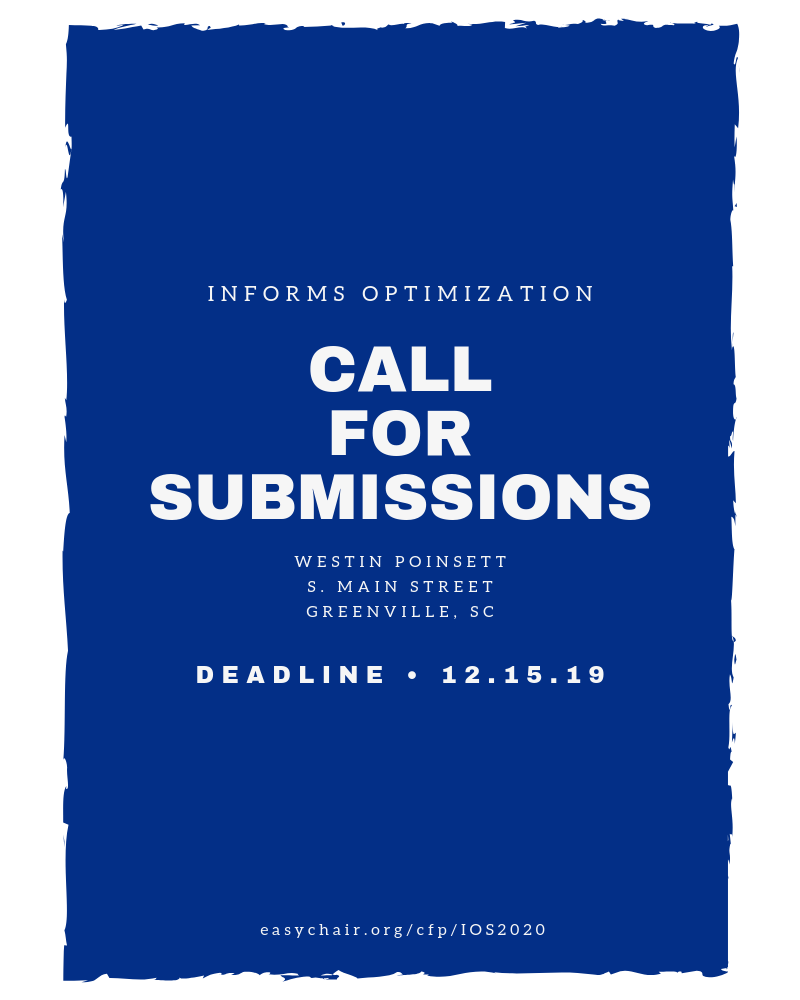 Deadline to submit presentations is 12,19,19