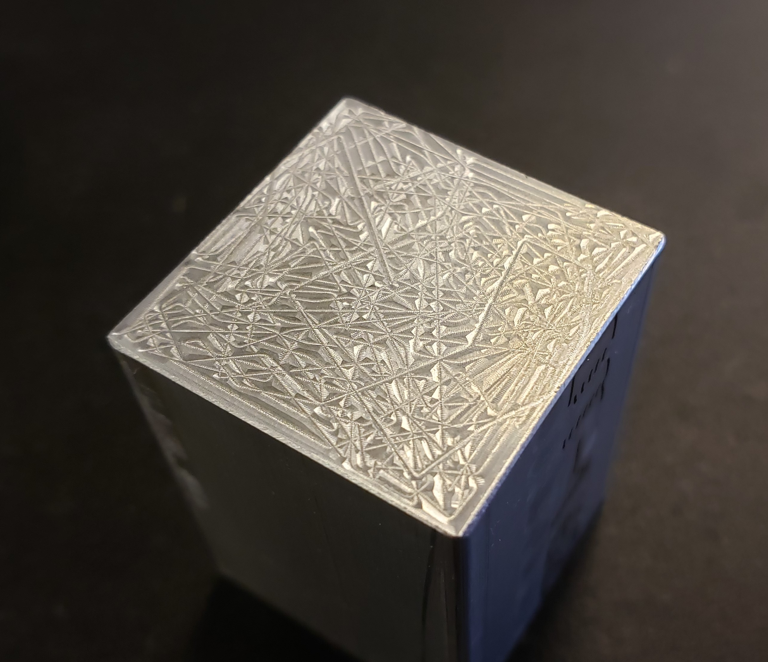 Stochastic toolpath experiment