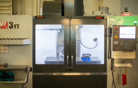 HAAS CNC machine - front view 2