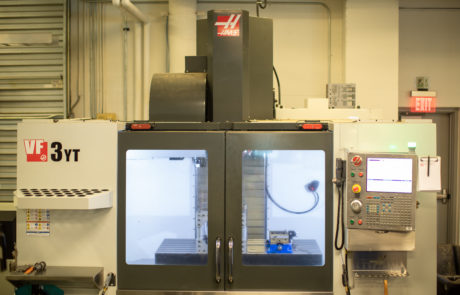 HAAS CNC machine - front view 3