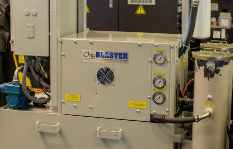 High pressure coolant system used on Okuma GenosM560V
