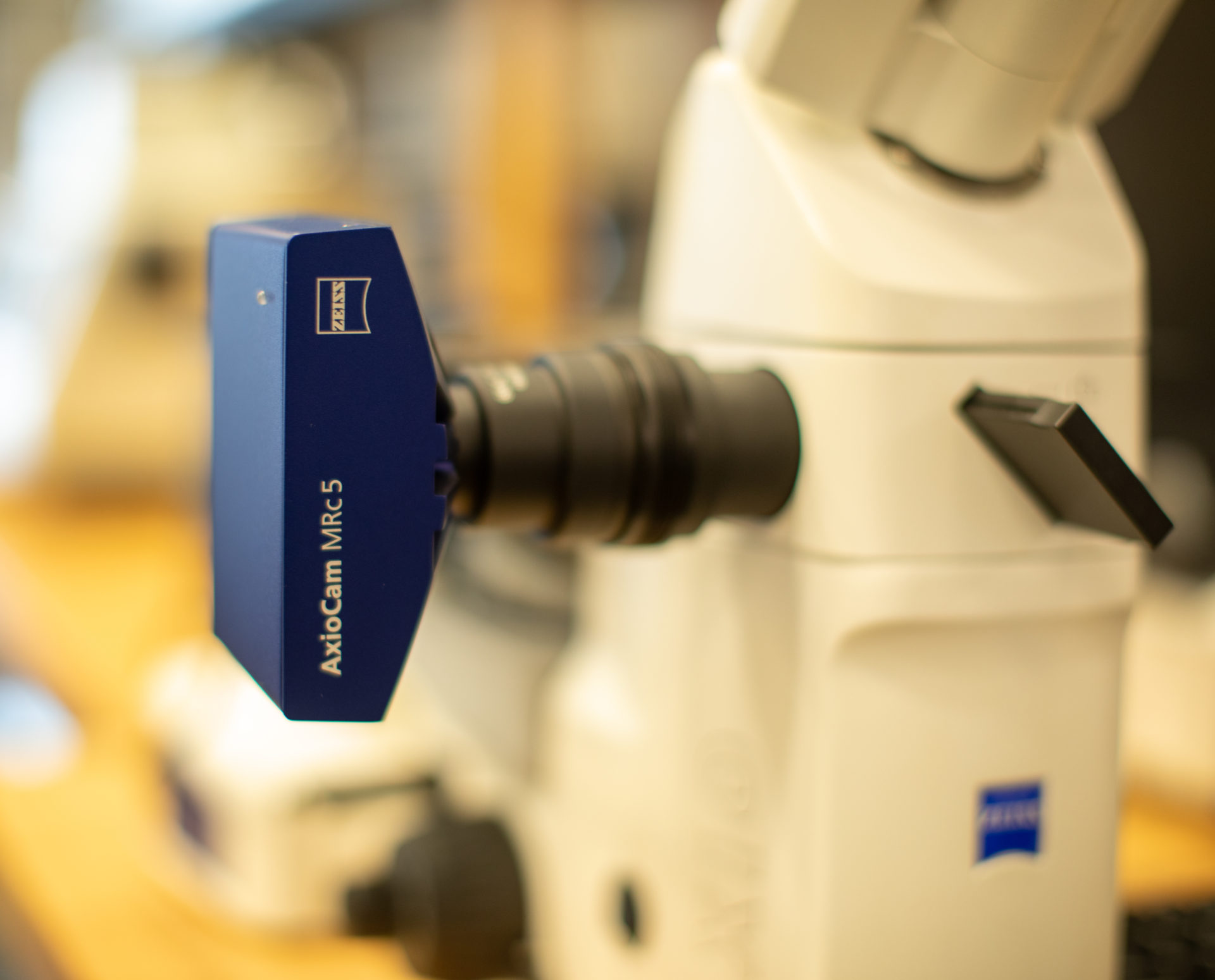 Microscope used in the Manufacturing lab