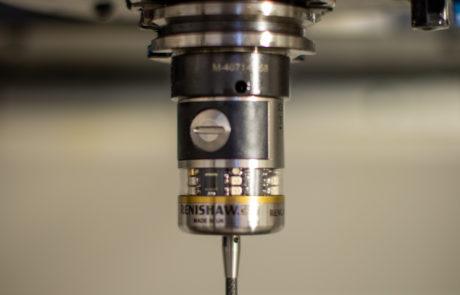 Renishaw workpiece offset probe