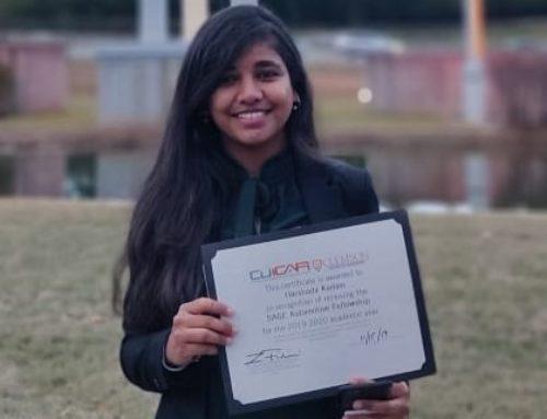 Harshada wins Sage Fellowship