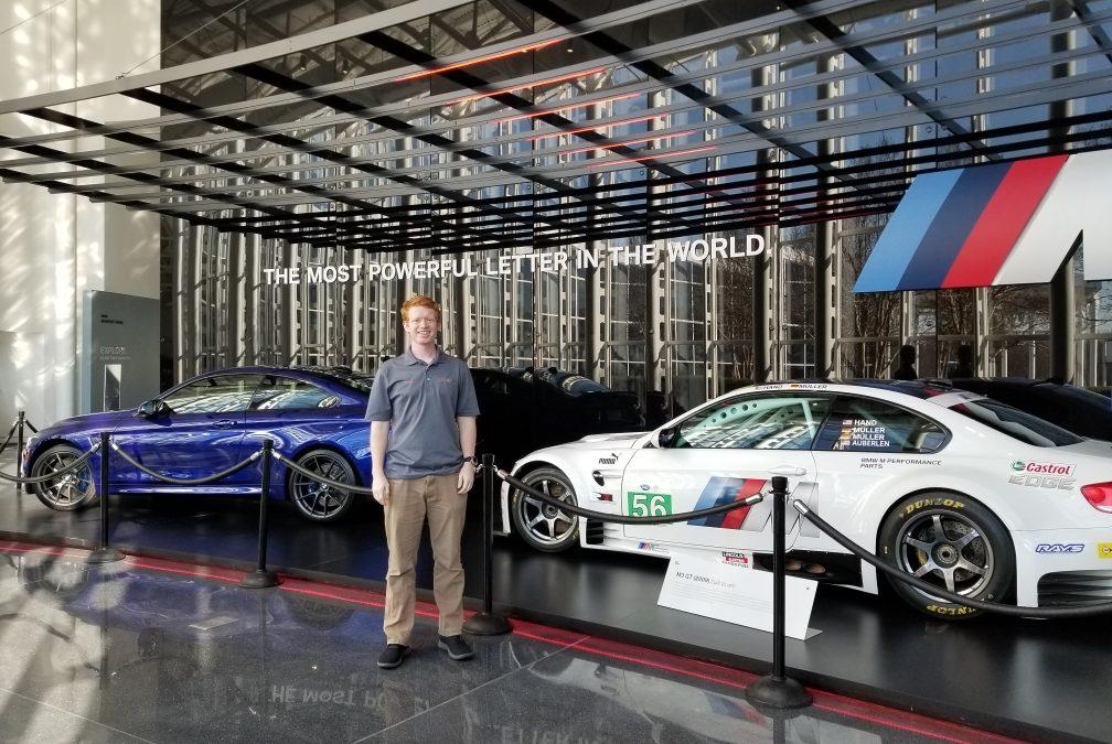 THINKER Fellows Visit BMW