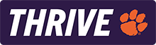 Thrive: Clemson Engineering, Computing and Applied Sciences Logo
