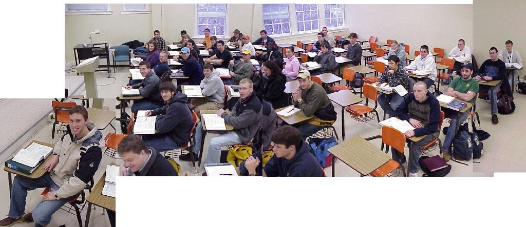 John Saylor Teaching Class Photo