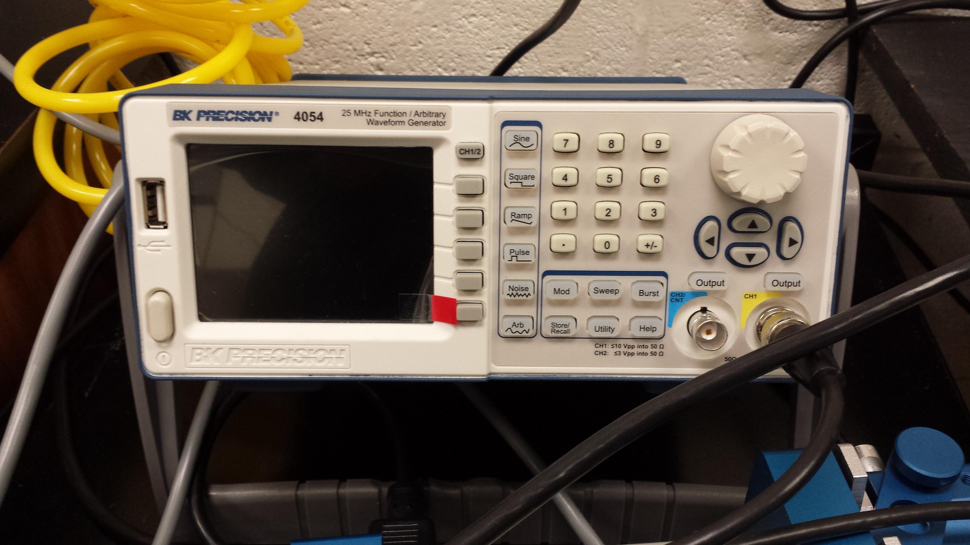 Function Generator (BK Precision 4054)